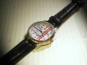 Ayrton Senna SouvenirTribute Watch Winner 1988 World F1 Championship - <span itemprop=availableAtOrFrom>derby, Derbyshire, United Kingdom</span> - Returns accepted - derby, Derbyshire, United Kingdom