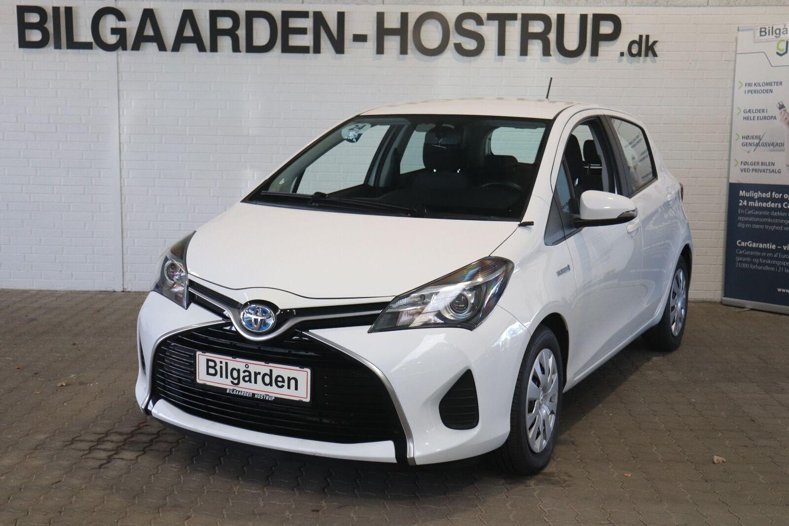 Toyota Yaris 1,5 Hybrid H2 e-CVT 5d - 119.900 kr.