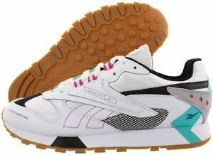 Reebok-CLASSIC-LEATHER-ATI-90-039-S-White-Teal-Black-Grey-Pink-Men-039-s-Shoes-8-5-US