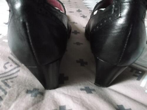 Chaussures Noires F Noires Chaussures mode rBqrw81