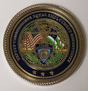 Details about NYPD NY City Police Dept DCEEO Deputy Commissioner Equal  Employment Opportunity