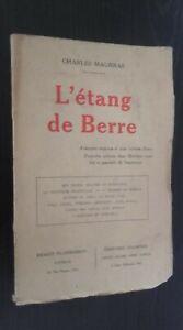 Charles Maurras ESTANQUE de Lijado E. Flammarion Edition Original Pin ABE