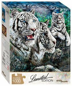 "Puzzles 1000 pieces 48*68 cm ""Find 13 Tigers"". Step Puzzle 79808."