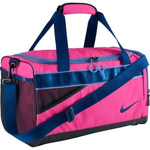fece0f6d4649 Image is loading NIKE-SPORTS-BAG-VARSITY-DUFFEL-BAG-PINK-BA4732-