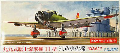 Fujimi C35 Aichi D3A1 Type 11 (Val) 1/72 Scale Kit HTR