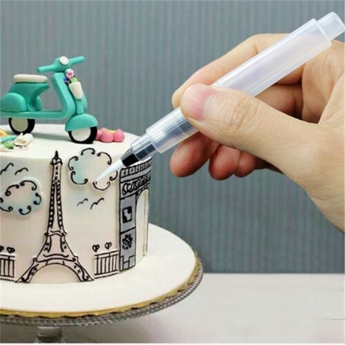 Useful Fondant Coloring Water Painting Pen Watercolor Cake Decor Baking Supply