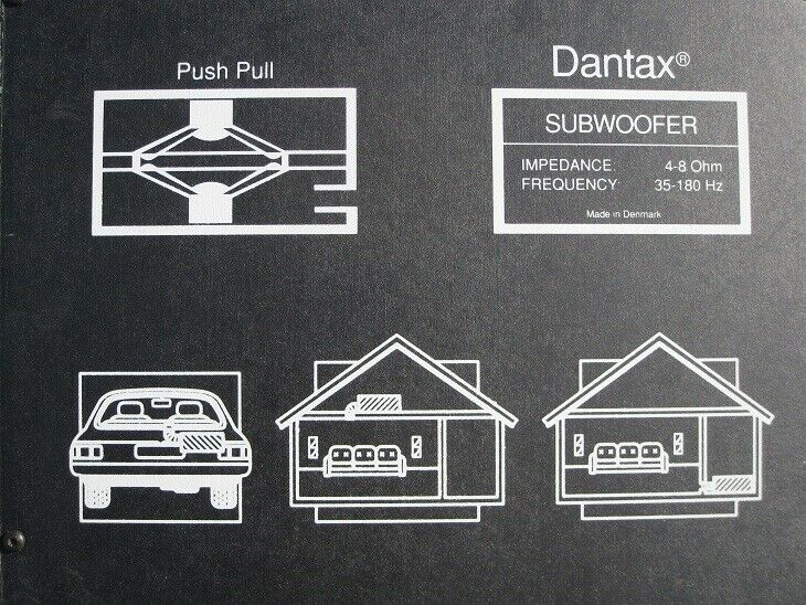 Subwoofer, Dantax, Perfekt