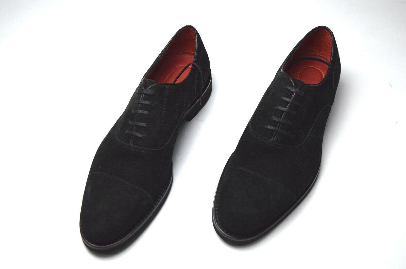 NEW STEFANO RICCI   LOGO Luxury shoes Size Eu 42 Uk 8 Us 9 (S464)