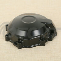 Side Black Stator Engine Cover For Kawasaki Ninja Zx-6r 2007-2008 Crankcase Tcmt