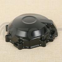 Side Black Stator Engine Cover For Kawasaki Ninja Zx-6r 2007-2008 Crankcase Tcmt