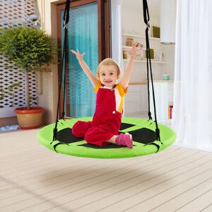 Nestschaukel-Tellerschaukel-Rundschauk-Kinderschaukel-Garten-Outdoor-100cm-150kg