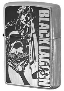 Zippo Black Lagoon Revy Both Sides Etching Used Finish Feeling Japanese Anime Ebay