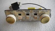 NEW ORIGINAL GERMAN ELECTRONICS HOFNER BASS GUITAR CONTROL PANEL