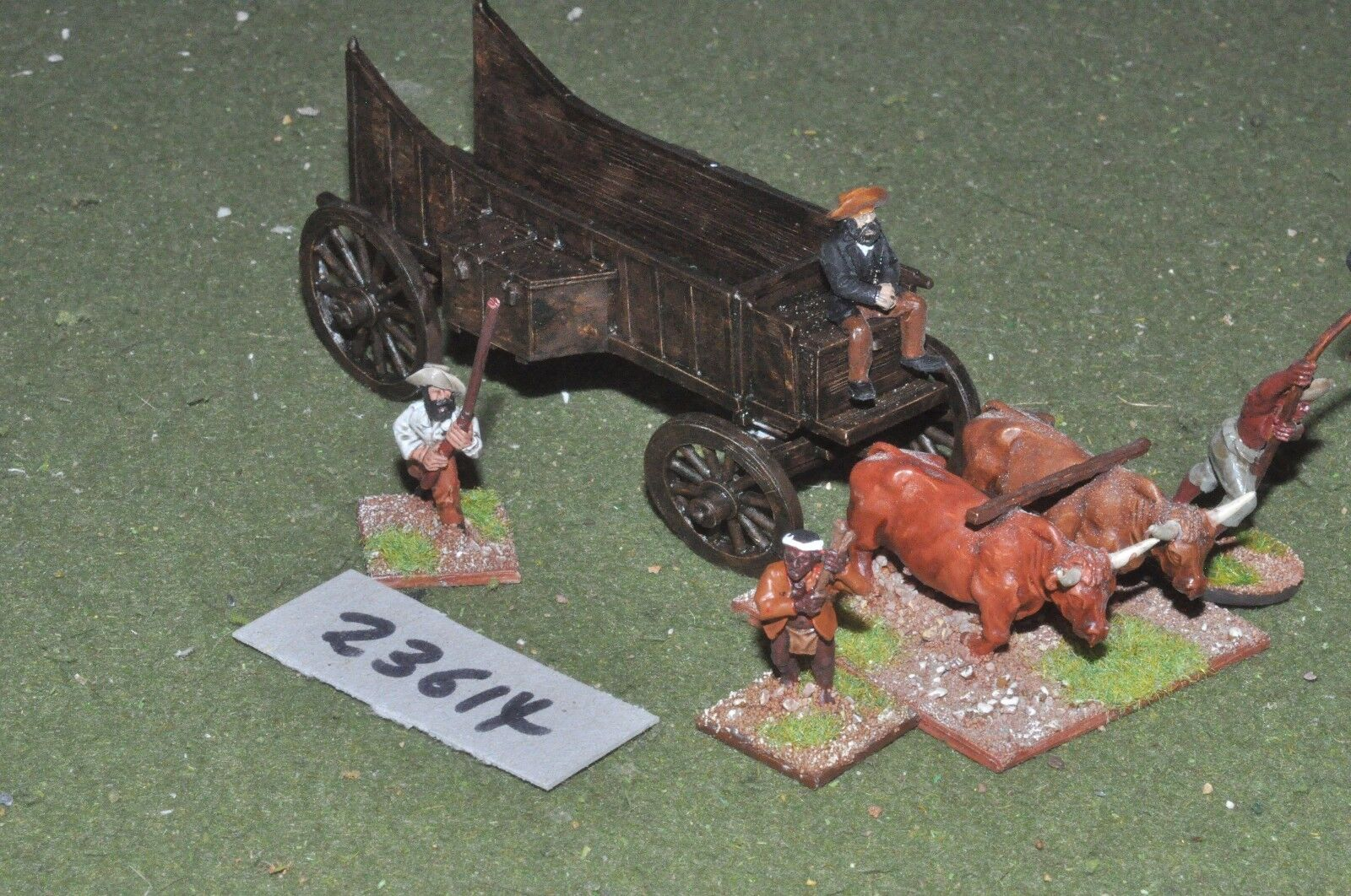 25mm colonial   south african - boer wagon - baggage (23614)