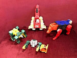 BIG-LOT-VINTAGE-1980s-BOOTLEG-ACTION-FIGURES-TRANSFORMERS-POWER-RANGERS-GOBOTS