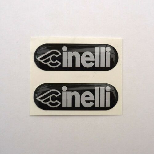 Renovation or Missing Vintage Replacement Cinelli Touch Handlebar Badges x 2