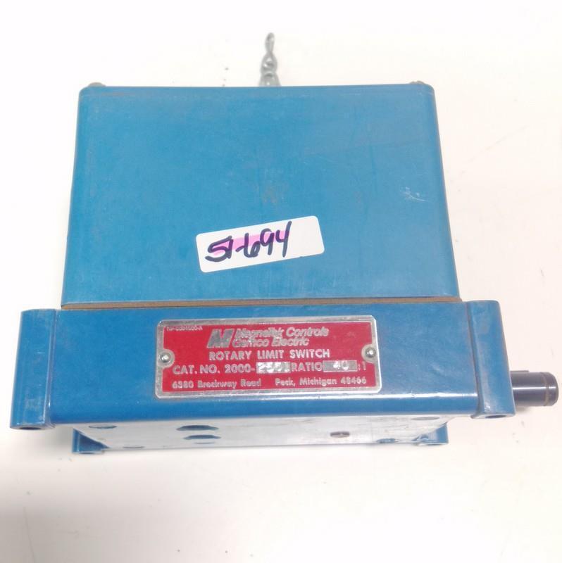 Magnetek Magnetek Magnetek controles Rotary Interruptor De Límite 2000-2561  PZB 479b7e
