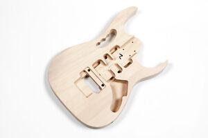 Bon CœUr Corps Guitare Electrique Jem Tilleul - Jem Basswood Electric Guitar Body Ni Trop Dur Ni Trop Mou
