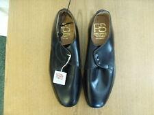 Mens Shoes Penn & Simmons handmade black lace-ups, size UK 10, EU 44.5 3292