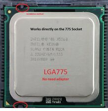 Intel Xeon X5260 3.33GHz LGA775 Dual-Core Processor (no adapter) + thermal paste