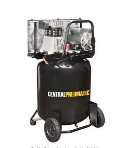 HOC VAC110 - 29 GAL. 110 LITER 2 HP 150 PSI CAST IRON VERTICAL AIR COMPRESSOR + 1 YEAR WARRANTY + FREE SHIPPING Canada Preview