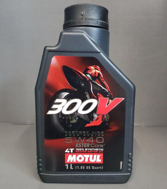 1 x Motul 300V 4T 5W40 Motoröl Motorradöl 1 Liter Road Racing #