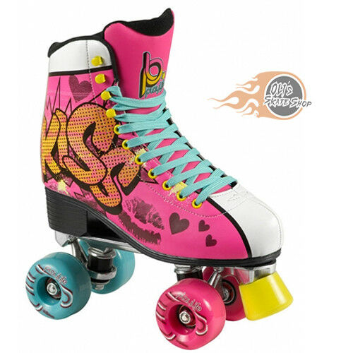 Powerslide Playlife Kiss Pink Roller S s  Womens Girls  happy shopping