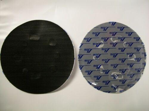 "2 Discs Norton 5/"" 5 /& 8 Hole Conversion Pad PSA to Hook /& Loop USA Sanding Disc"