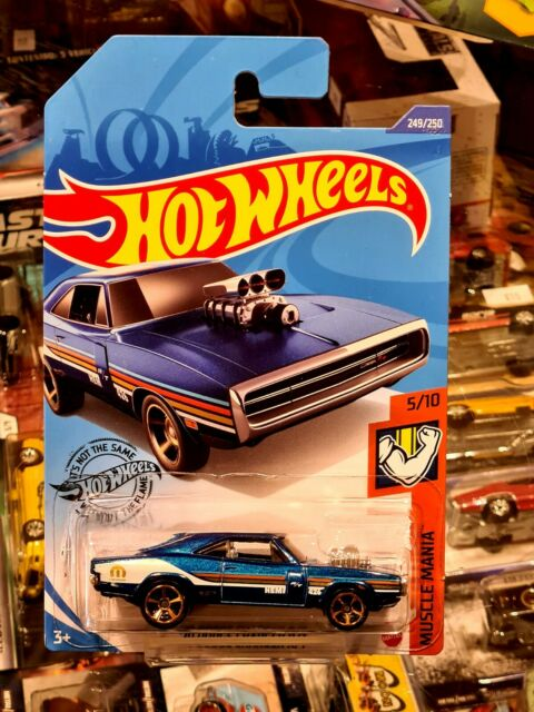 HOT WHEELS BASIC - MUSTLE MANIA - '70 DODGE CHARGER R/T