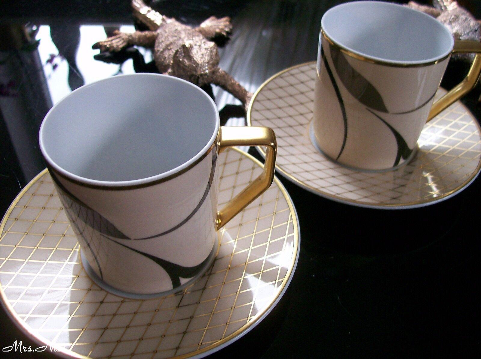 Rosenthal Francis SHEHERAZADE 2 Café Tasses avec 2 soucoupes  NEUF 1. choix