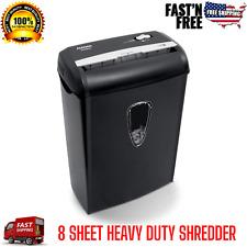 New Listingcross Cut Paper Shredder 8 Sheet Heavy Duty Credit Card Shredder Office Aurora