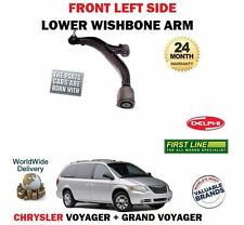 FOR CHRYSLER GRAND + VOYAGER 2000-2008 FRONT LEFT LH SUSPENSION WISHBONE ARM