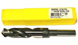 "Morse 1-1//16/"" Drill Bit 1-1//16/"" Silver /& Deming Bit High Speed Steel USA Made"