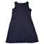 miniature 1 - HOBBS London Womens Dress UK 12 Medium Navy Blue Sleeveless Side Pockets