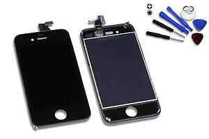 Retina-Display-fuer-original-iPhone-4-schwarz-Glas-Touchscreen-Gitter-LCD-Haendler