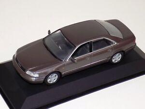 1/43 Minichamps Audi A8 in Cashmere Metallic
