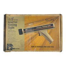 Vintage Sears Craftsman Inductive Timing Light 28 2134 Original Box And Manual