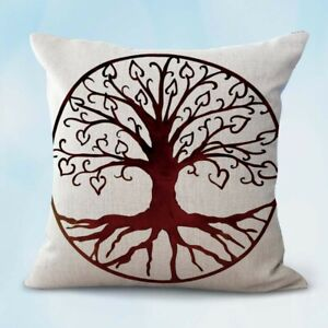 Details About Us Er Pillow Covers For Throw Case Tree Of Life Cushion Cover