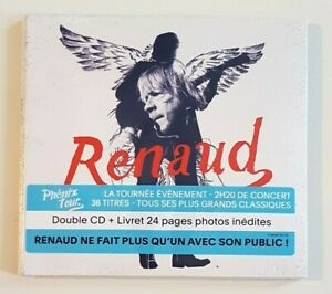 2-x-CD-Live-Neuf-RENAUD-PHENIX-TOUR-2h20-Livret-24-p-photos-inedites