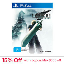 Final Fantasy 7 VII Remake PS4 Game NEW