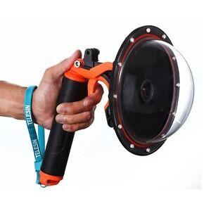 "TELESIN 6"" Underwater Photography Dome Port+ Pistol Trigger for GoPro Hero 5"