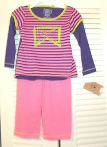 NIKE GIRLS  TWO PIECE PURPLE//PINK E ATHLETIC SET