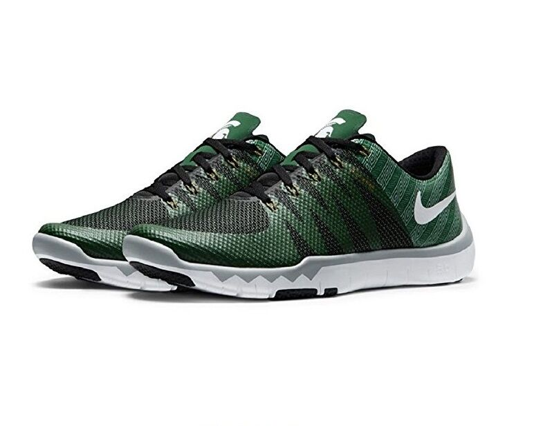 Michigan State Nike Free Trainer 5.0 V6 AMP Mens 8.5