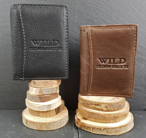 Leather Unisex Mini Wallet Wallet Purse Purse Extra Small Wallet