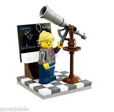 Lego Ideas Research Institute 21110 Astronomer+Telescope Bag #3 + Instructions