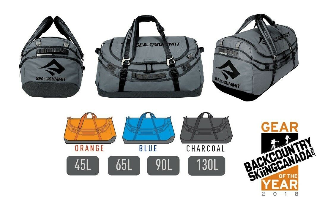 Sea to summit Nomad expedición Bolsa De Lona - 4 tamaños - 3 Colors Resistente