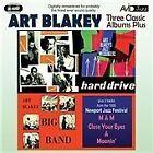 Art Blakey - Three Classic Albums Plus (Big Band/Hard Drive/Jazz Messengers, 2010)