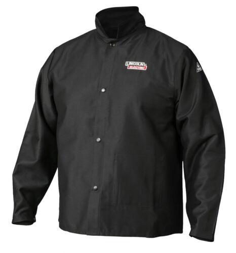 Lincoln K2985 Traditional FR Cloth Welders Welding Jacket Size Medium