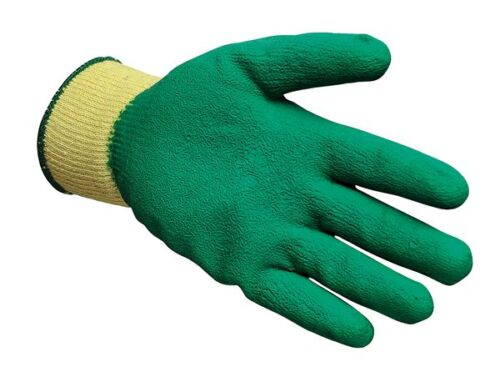 Latex Palm Coated 100 Pairs of Multi Purpose Protective Grab /& Grip Gloves