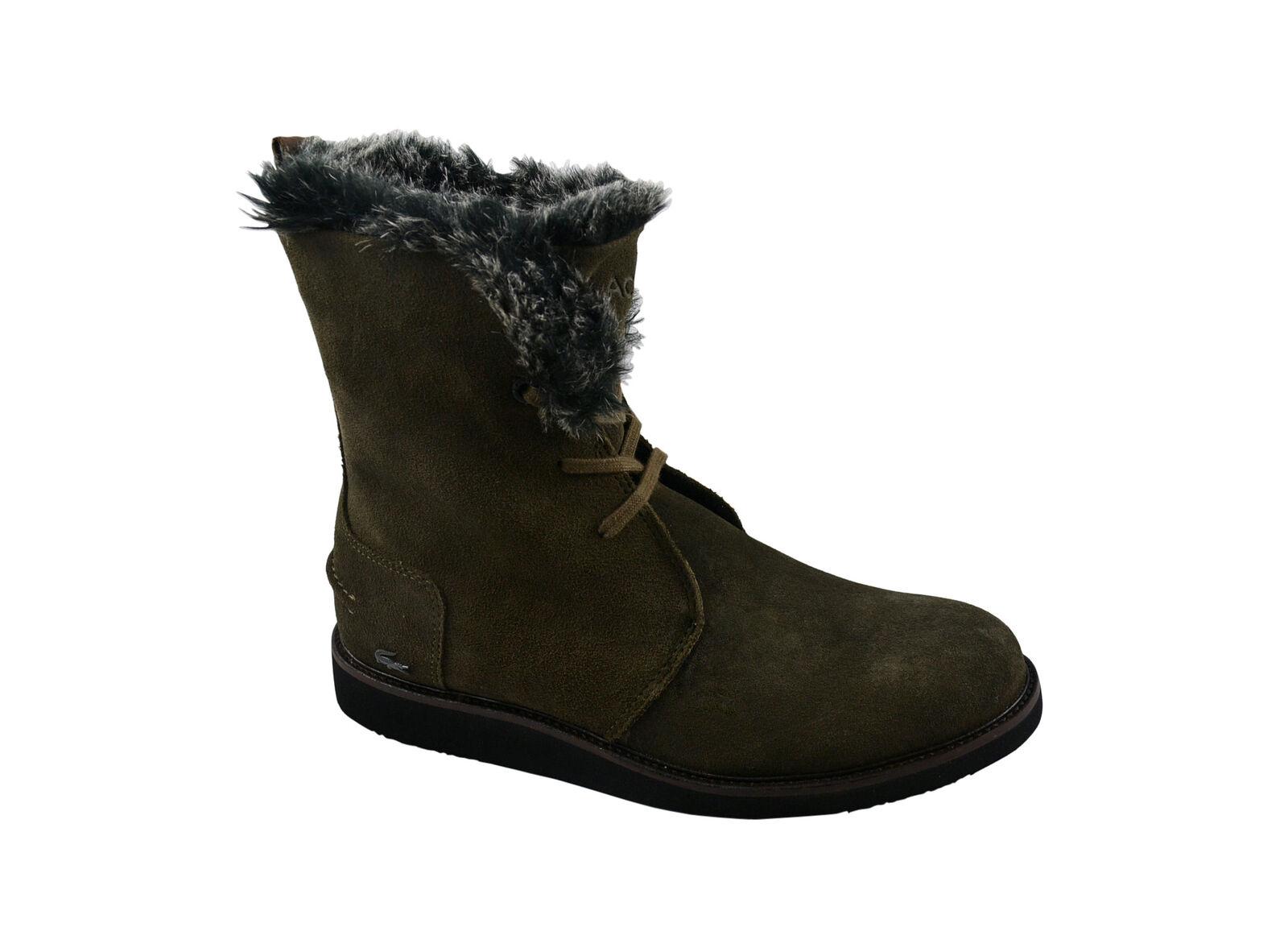 Lacoste Baylen 2 SRW Dark caqui botas/botas de invierno Zapatos/